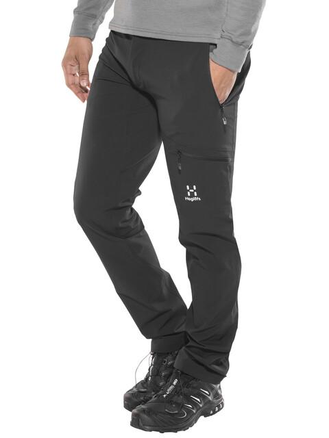 Haglöfs Lizard - Pantalones de Trekking Hombre - regular negro